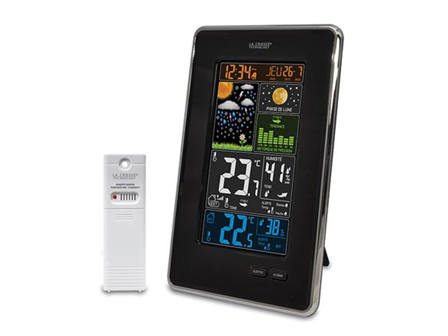 LA CROSSE TECHNOLOGY WS6835 - Colour Weather Station with Animated Weather Forecast
