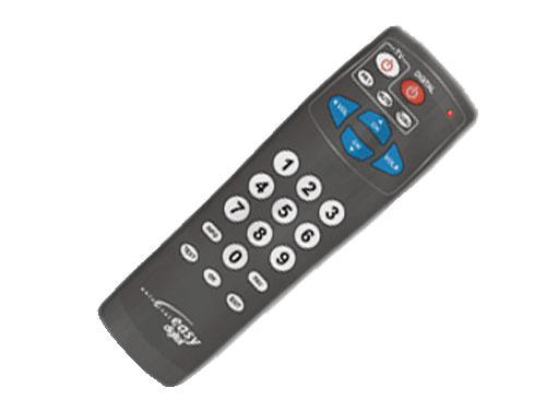 Controlo remoto universal EASY digital