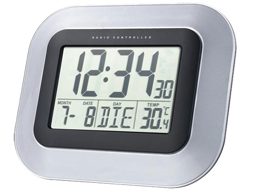 Reloj de Pared/Sobremesa Digital Radiocontrolado - WS8005