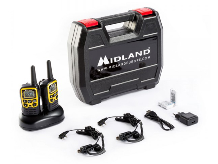 Walkie-talkie MIDLAND XT-50 ADVENTURE- 2 unidades