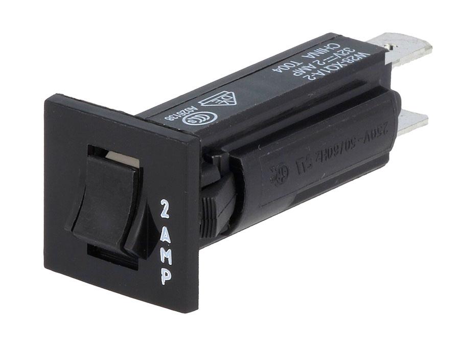 Fusible Automatico 2 A - 250 Vca - Disyuntor Térmico - FA2