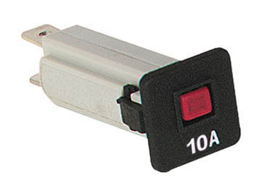 Automatic 10 A 250 Vac fuse - thermal circuit breaker