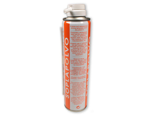 Taso Vision Soplapolvo - Air Duster Aerosol - Compressed Air (Dual Function) - 405 cc