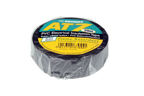 Adhesive Insulation Tape 19 mm - 20 m - Black