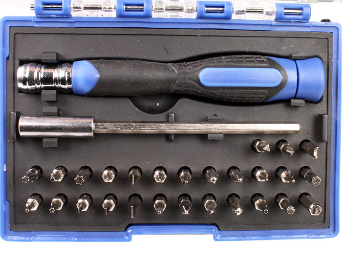 Multi-bit precision screwdriver