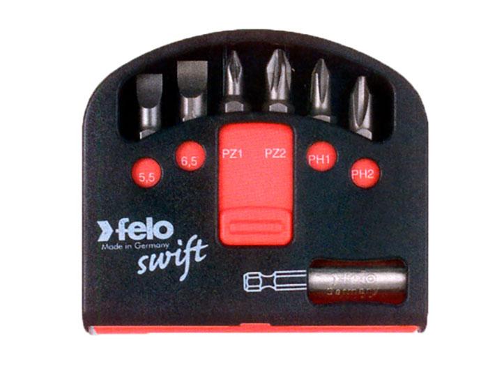 Felo Box Swift - Estojo Felo Tip com Ponta Magnetizada - 6 Bits - 020 601 16