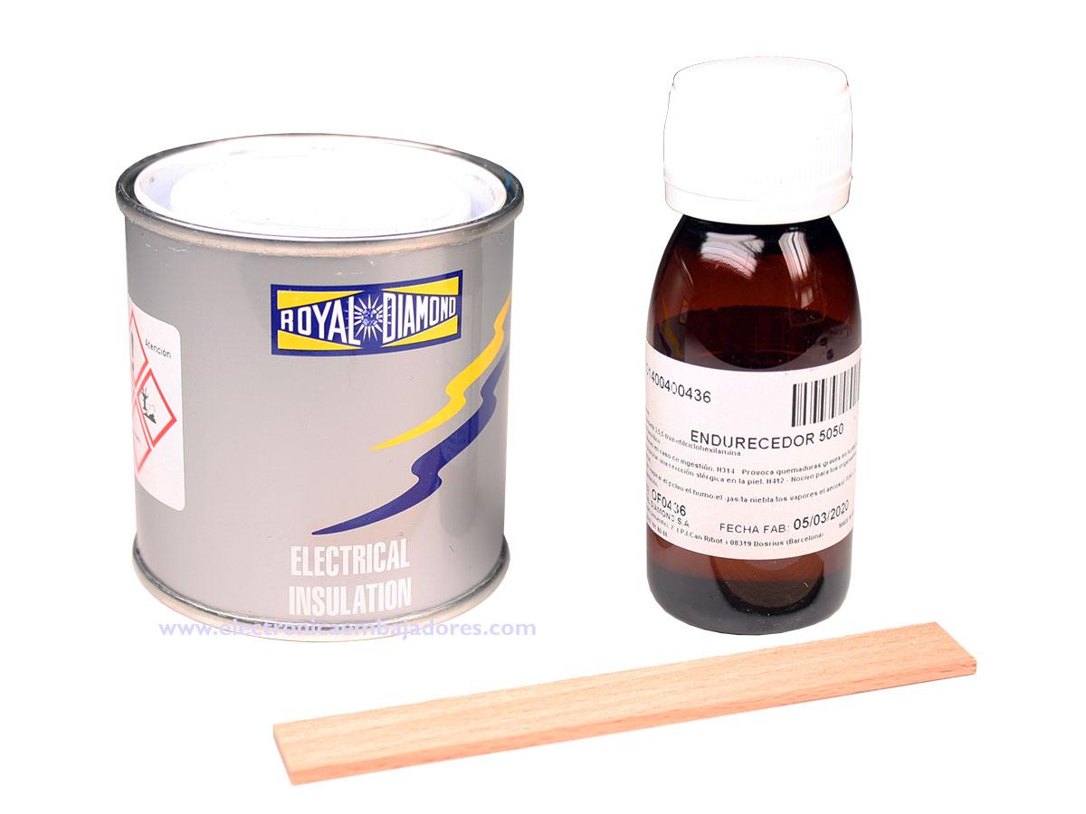 Royakit ROYAPOX 5050 CD - Resina Epoxi para Encapsular o Rellenar Componentes Electrónicos
