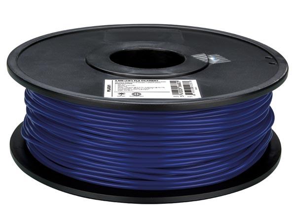 Filament PLA - 1,75 mm - 1 Kg - Bleu Foncé - PLA175U1