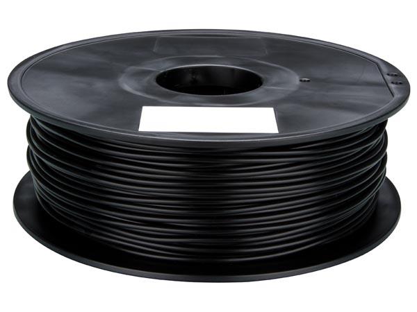 FILAMENTO PLA 1,75mm - COLOR PRETO - 1 kg