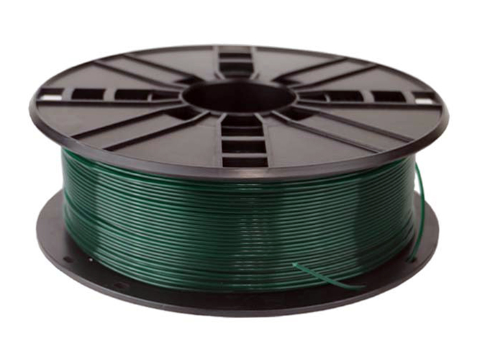 PLA Filament - 1.75 mm - Colour Dark Green - 1 Kg - PLA175G1