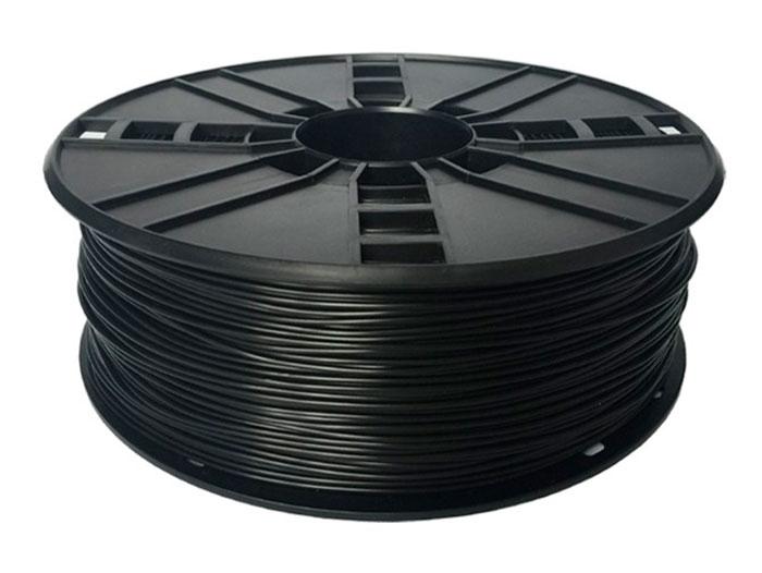 TPE Flexible Filament - 1.75 mm - Colour Black - 1 Kg - 3DP-TPE1.75-01-BK