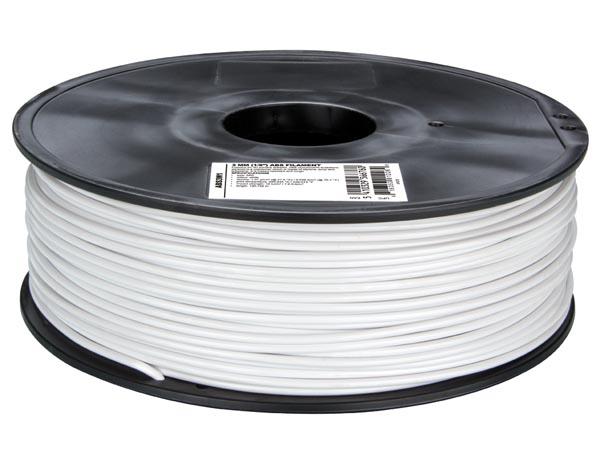 Filamento PLA - 3 mm - Color Blanco - 1 Kg - PLA3W1