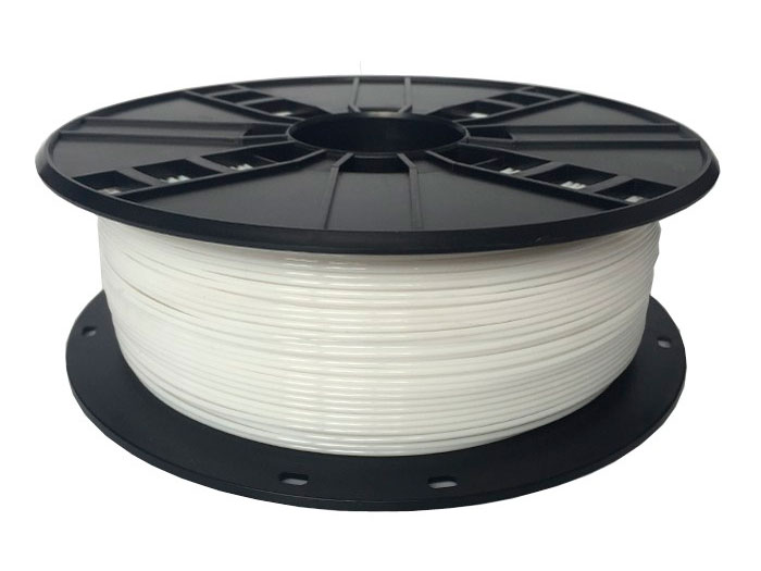 PET-G filament - 1.75 mm - colour white - 1 Kg
