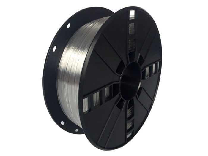 PET-G filament - 1.75 mm - colour transparent - 1 Kg