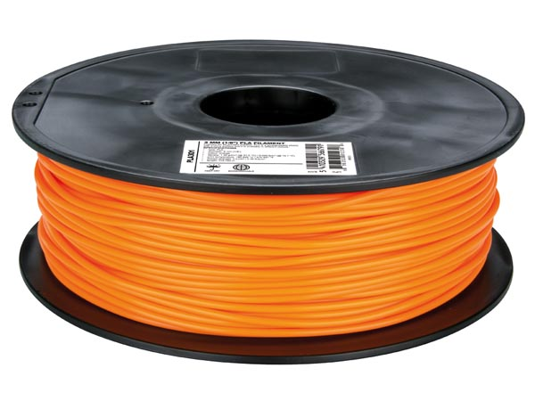 Filament PLA - 3,00 mm - 1 Kg - Orange - PLA301