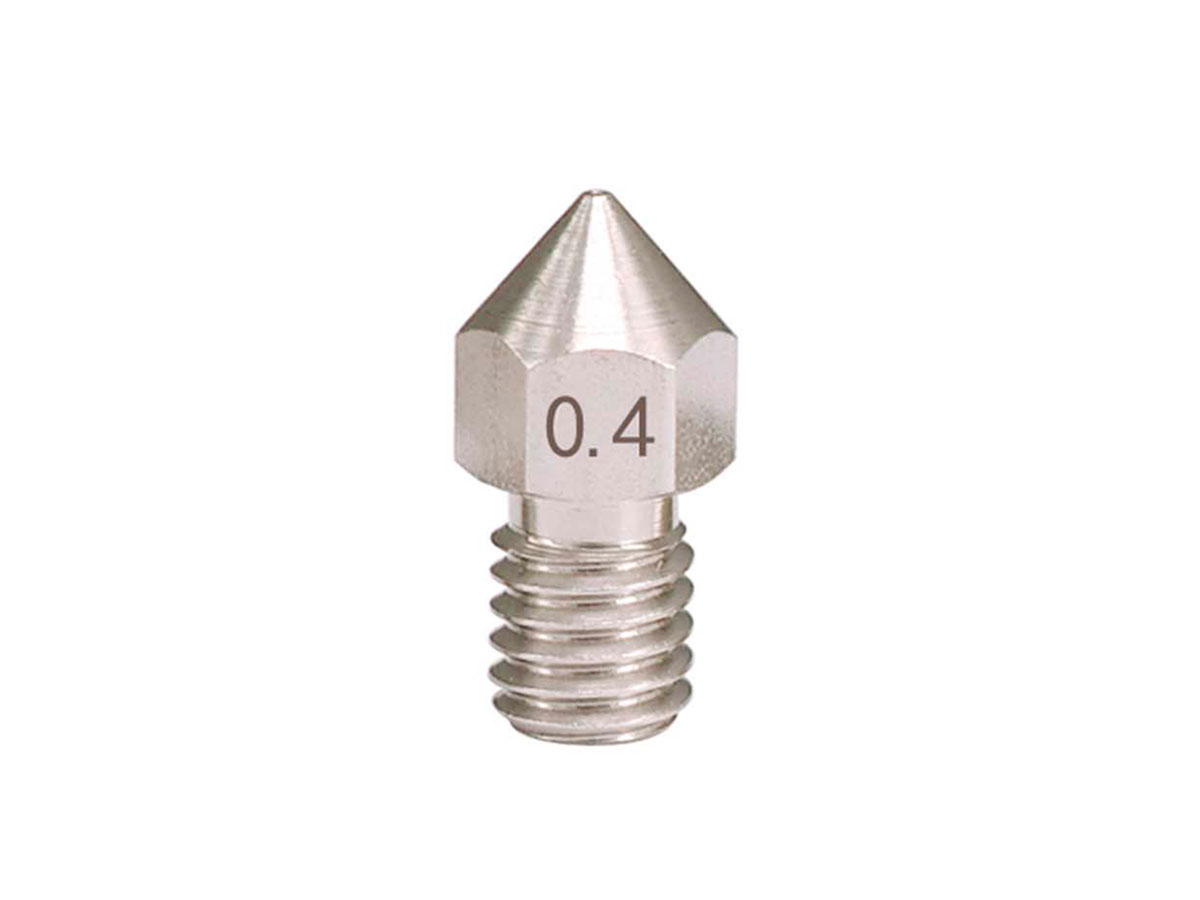 Boquilla Extrusor Impresora 3D Filamento Ø 1,75 mm - Ø 0,4 mm