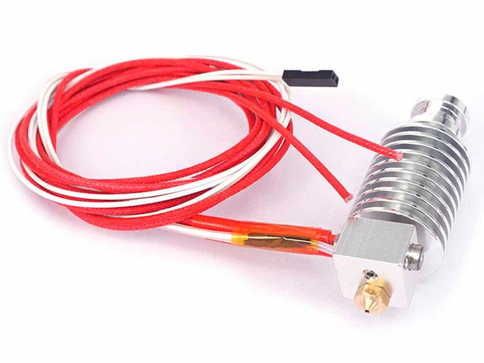 E3D-V5 - 3D Printer Extruder Head 1.75 mm - 0.3 mm Nozzle - 12 Vdc
