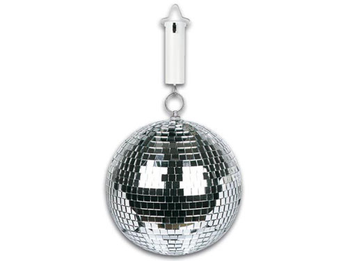 Mirror Ball Motor Ø Max. 20 cm- 1,5 VDC -Black - 15-1008