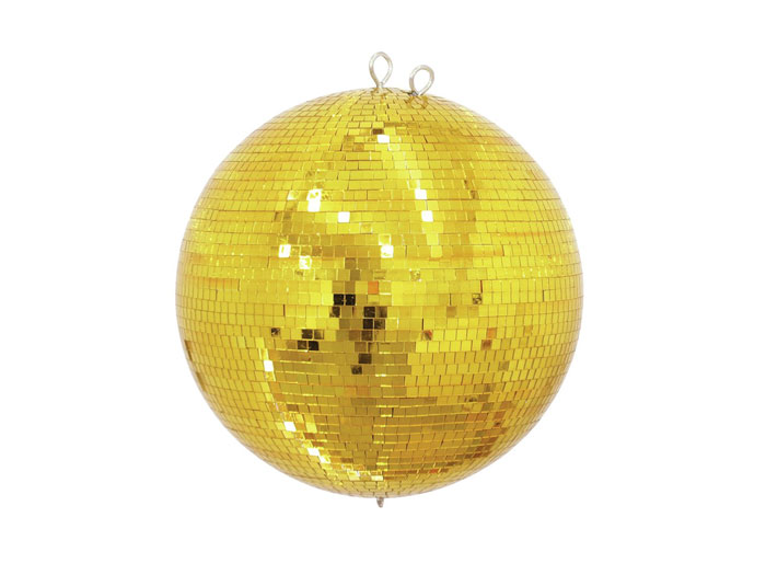 Boule Miroir - 40 cm - Dorée