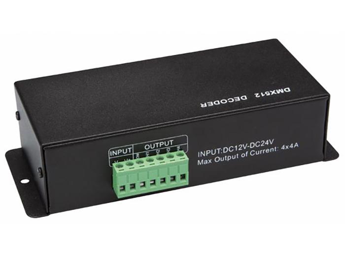 Velleman - Controlador DMX para tiras led - RGB+W - LEDC09