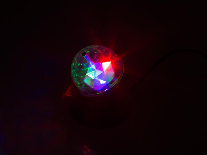 HQ Power - Mini LED Partylight - 3 W - HQPE10004