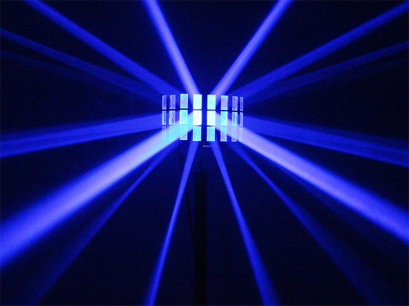 beamZ Butterfly - RGB Butterfly Effect 3 x 3 W LEDs - 24 Beams - 153.712
