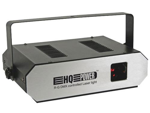 EFECTO LASER ROJO/VERDE 10 CANALES DMX 160MW