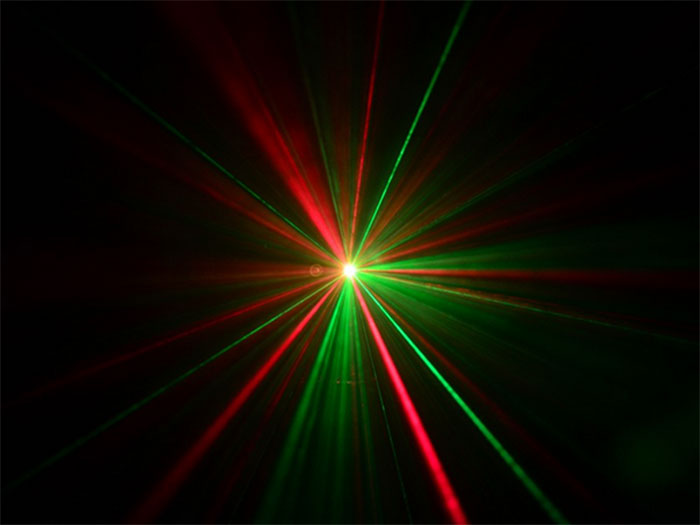 beamZ LS-FFLED10 - Red - Green Laser with Gobo and LED Effect