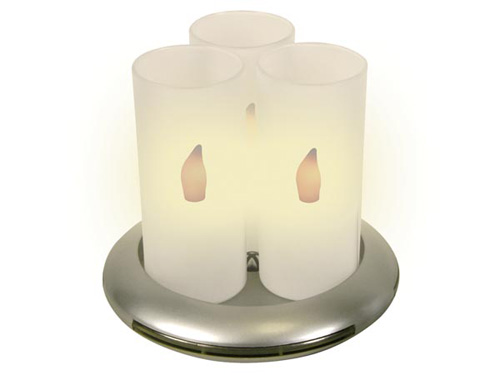 Induction Rechargeable LED Candle - 3 Units - XMCL14