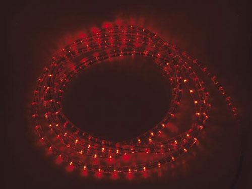 Manguera Luminosa LEDs Roja - 5 m con Conexión - RLL15R