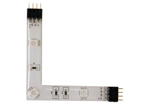 Ruban de LEDs Autoadhésif RGB angle Droit - 3 LEDs - CHLS82