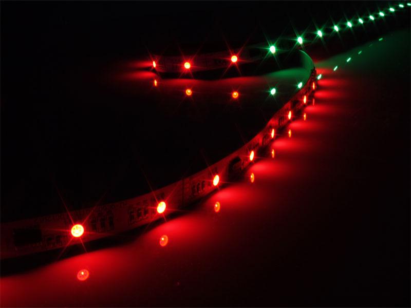 Epistar TM1809 - Tira de LED RGB MAGIC - IP20 - 30 LEDs por Metro - SMD5050 - 1 m