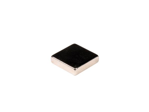 Imán de Neodimio - 20 x 20 x 5 mm - N45