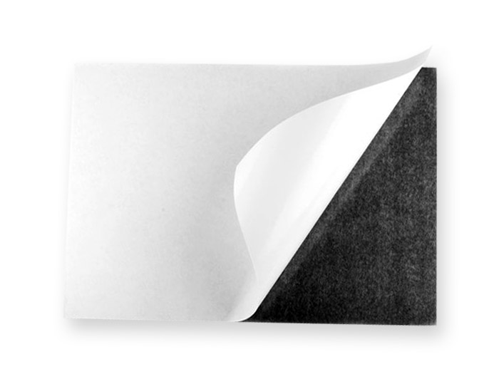 Magnetic A4 sheet - Adhesive - 210 x 297 mm