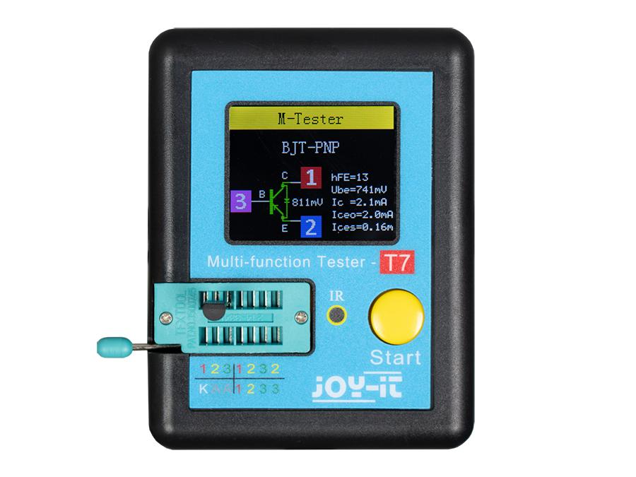 jOY-it LCR-T7 - Medidor Multifunción Multicomponentes  - JT-LCR-T7