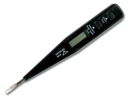 COMPROBADOR DIGITAL DE TENSIONES - CON DISPLAY LCD