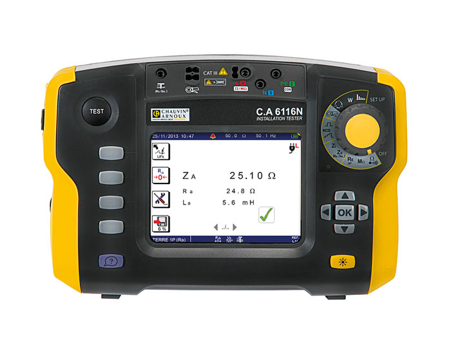 Verificador instalações elétricas CHAUVIN ARNOUX CA6116N