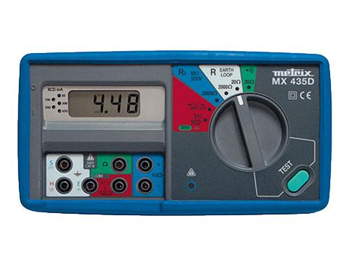 COMPROBADOR INSTALACIONES ELECTRICAS METRIX MX435DK