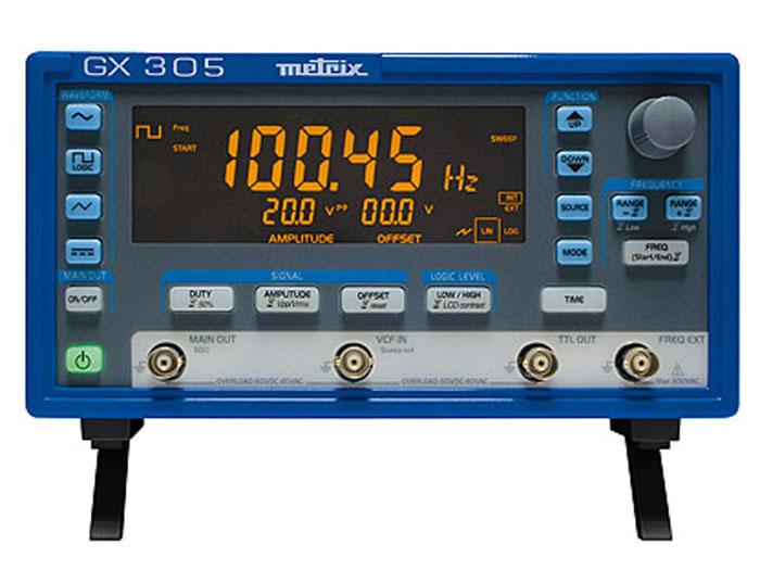 GENERADOR DE FUNCIONES METRIX GX305 - 5 MHz