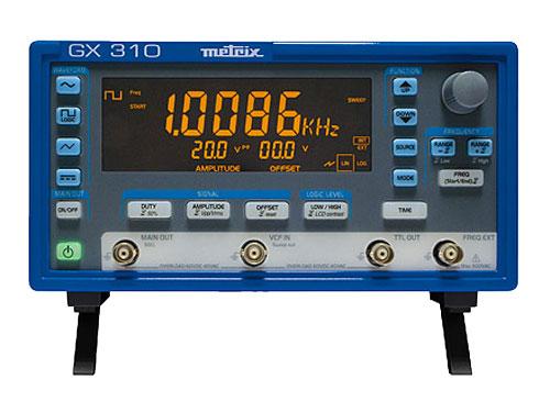 GENERADOR DE FUNCIONES METRIX GX310 - 10 MHz