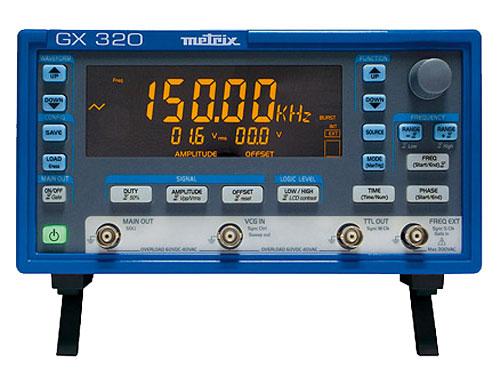 GENERADOR DE FUNCIONES METRIX GX320 - 20 MHz
