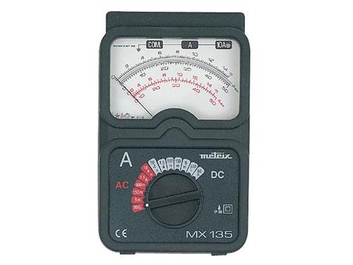 AMPERIMETRO ANALOGICO DIDACTICO - METRIX MX135