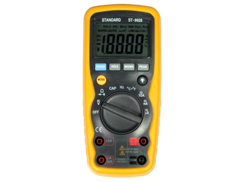 MULTIMETRO DIGITAL ST-9928 - TRUE RMS AUTORANGO