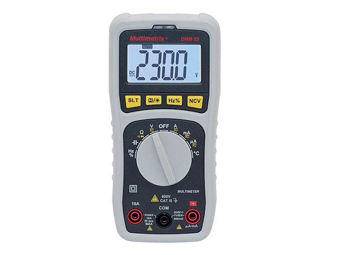 Multimetrix DMM53 - Multimètre Numérique