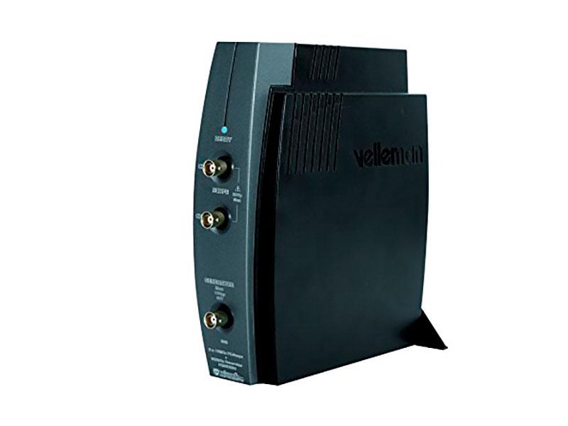 OSCILOSCOPIO DE 2 CANALES + GENERADOR PARA PC POR USB