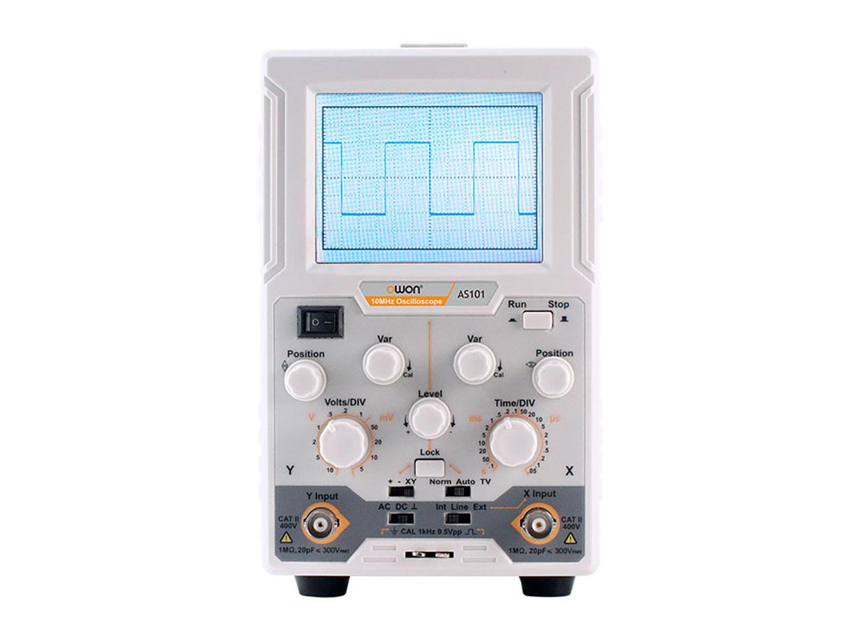 Owon AS101 - Osciloscopio 1 Canal 10 Mhz