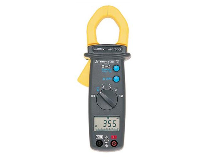 PINZA AMPERIMETRICA DIGITAL METRIX MX355