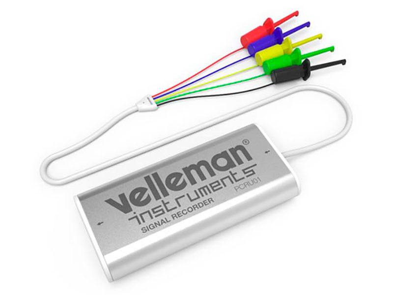 Velleman PCRU01 - Mini Enregistreur de Signaux à 4 Canaux