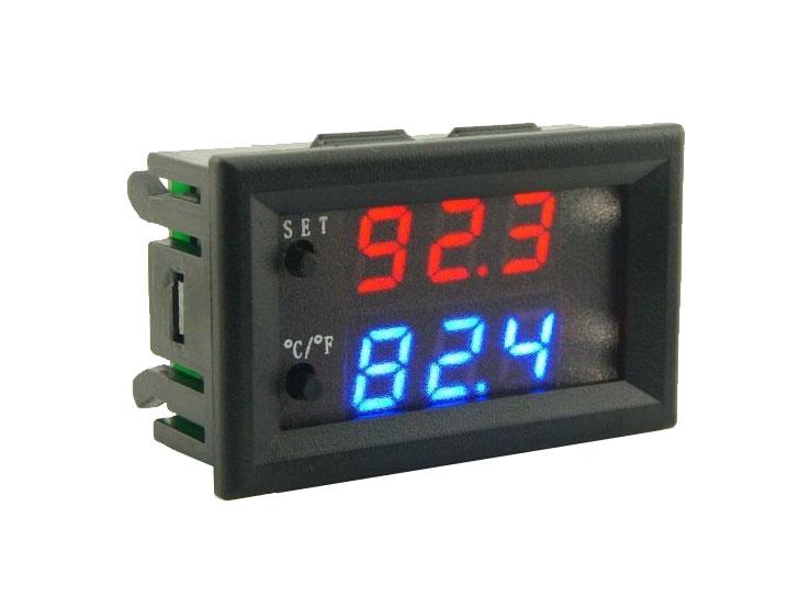 Termostato Digital de Panel Rango -50~110ºC - 12Vdc