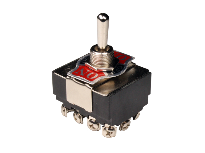 3P 4C - Large two-way toggle switch